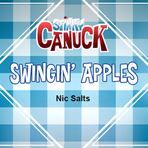 Nic Salts Swingin' Apples - 30ml