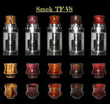 Wooden Drip Tips by Electric Bumblebee