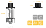 Aspire Cleito 120 Tank Kit 4ml