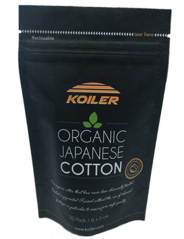 KOILER Organic Japanese Cotton