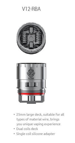 SMOK V12 RBA Coil for TFV12 1 pc