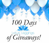 Special Announcement: 100 Days of Giveaways!