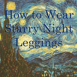 How to Wear Starry Night Leggings