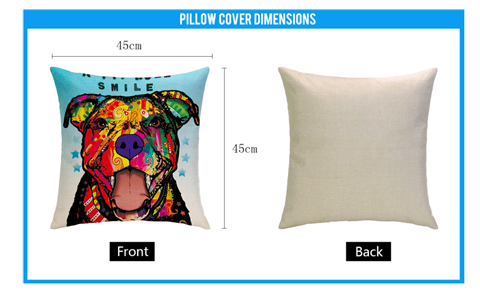 Size guide of Pillow Cover