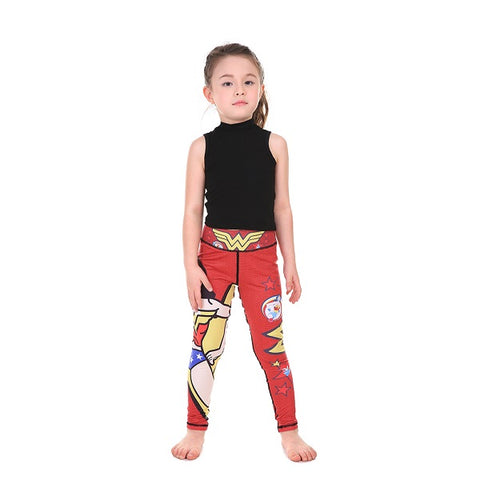 Wonder Woman Leggings for kids