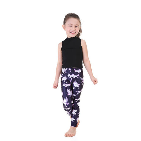Unicorn leggings for kids