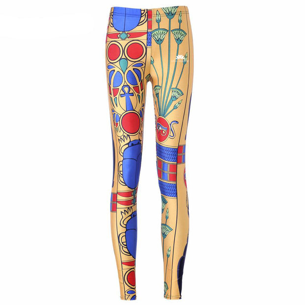 ANCIENT EGYPTIAN PHARAOH LEGGINGS