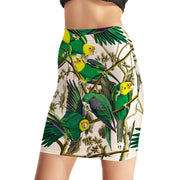 Parrot Talk Bodycon Skirt