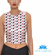 BULLETS CROP TOP