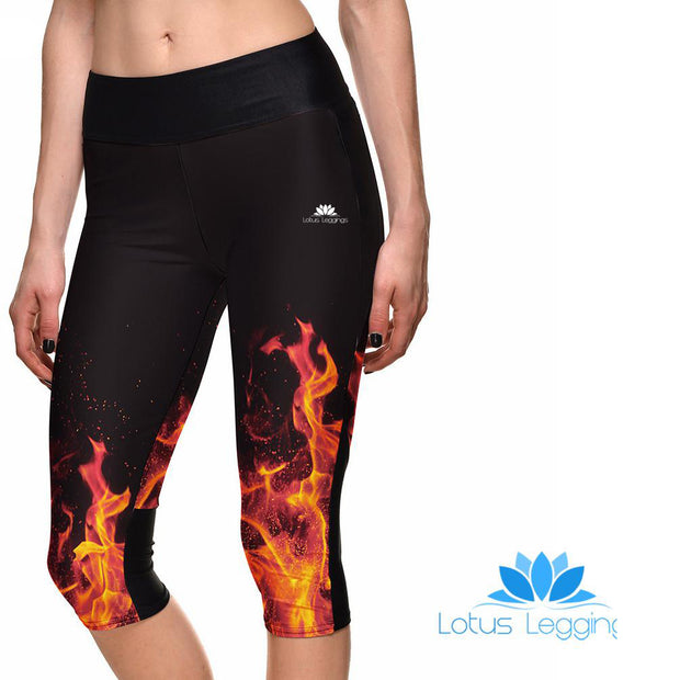 ON FIRE ATHLETIC CAPRI