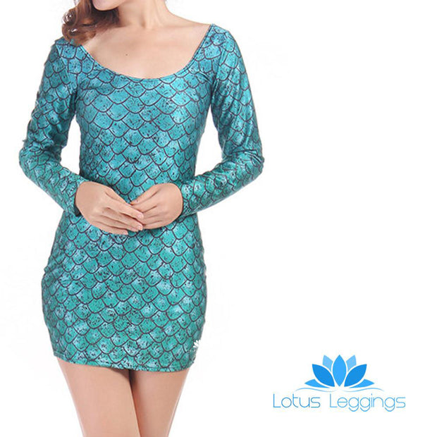 DRAGON EGG LONG SLEEVE DRESS