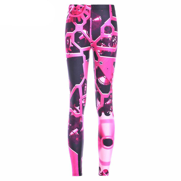 MECHANICAL GEARS  LEGGINGS