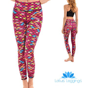 LotusX™ Mermaid Scale Leggings