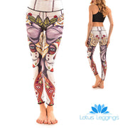 LotusX™ Sugar Skull Leggings
