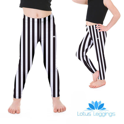 Kid's Striped Leggings