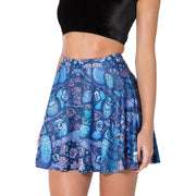 MIDNIGHT OWL SKATER SKIRT