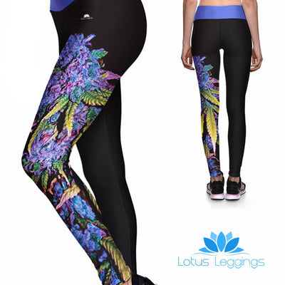 PURPLE HAZE ATHLETIC LEGGINGS