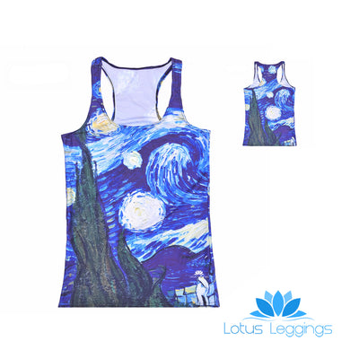 VAN GOGH'S STARRY NIGHT TOP