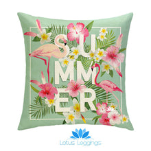 Summer Tropical Paradise Pillow Cover