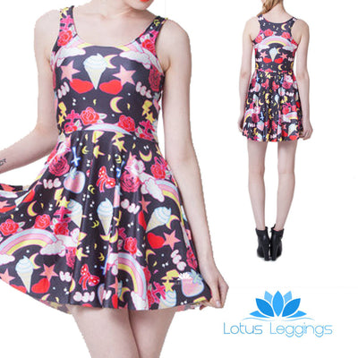 KAWAII SKATER DRESS