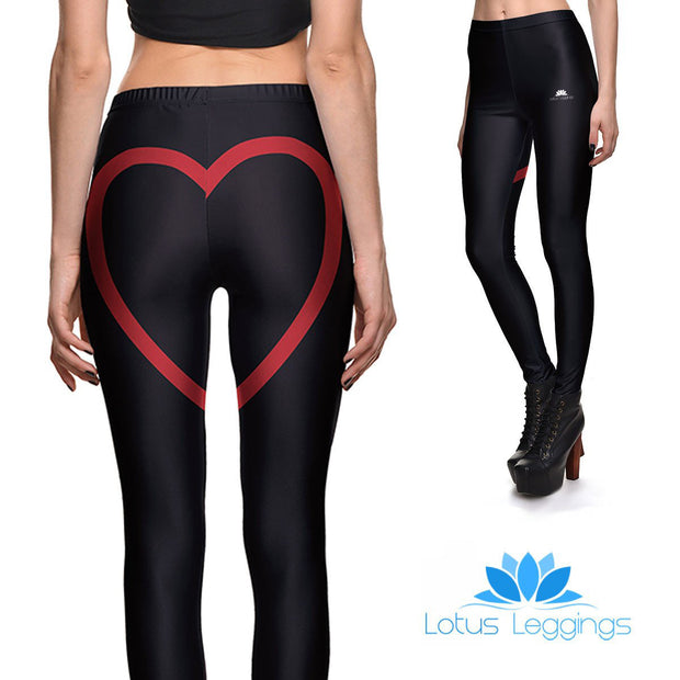 Cheeky Hearts Leggings