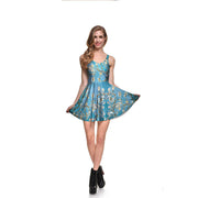 Almond Blossom Skater Dress