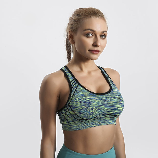Paint Brush Blend ComfortFit Sports Bra