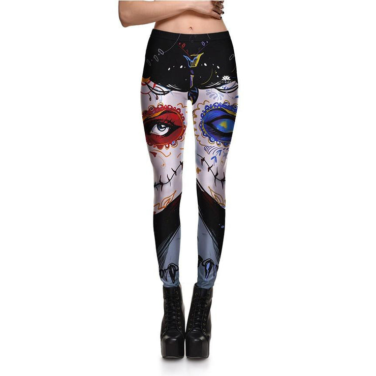 Skeleton Princess Leggings