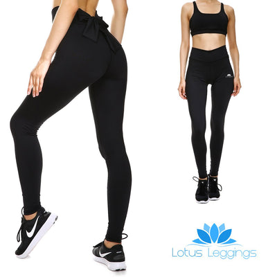 Blackout Bow Leggings