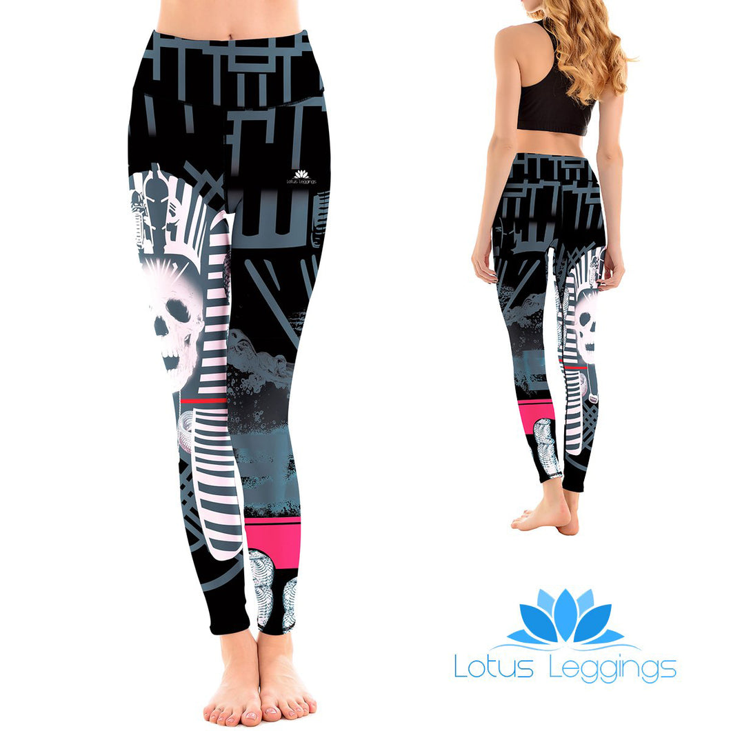 LotusX™ Skull Pharaoh Leggings