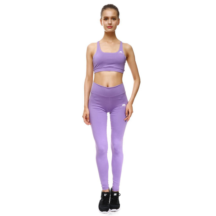 Lavender Bow Leggings