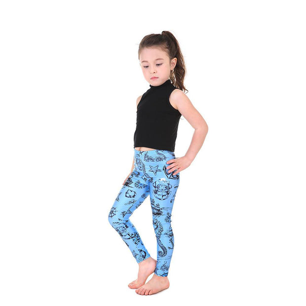 Kid's Wind and Sea Leggings