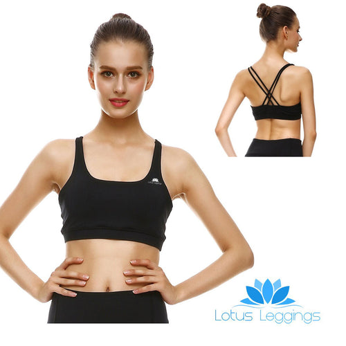 Blackout Criss-Cross Bras