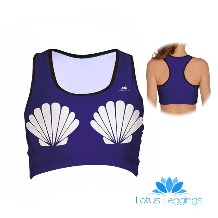 Seashell Sports Bra