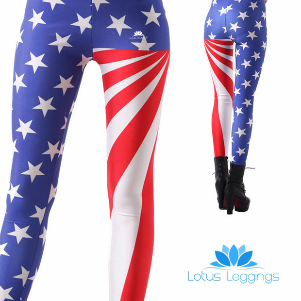STAR SPANGLED LEGGINGS