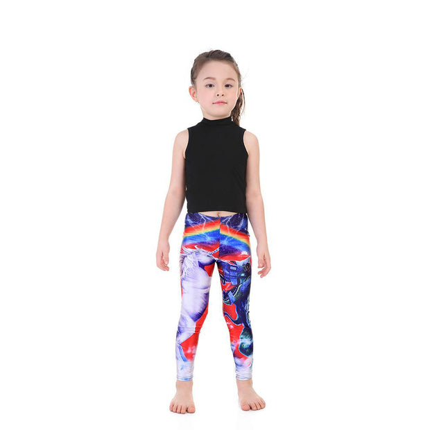 Kid's Unicorn Dino Leggings