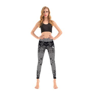 LotusX™ Black Mosaic Leggings