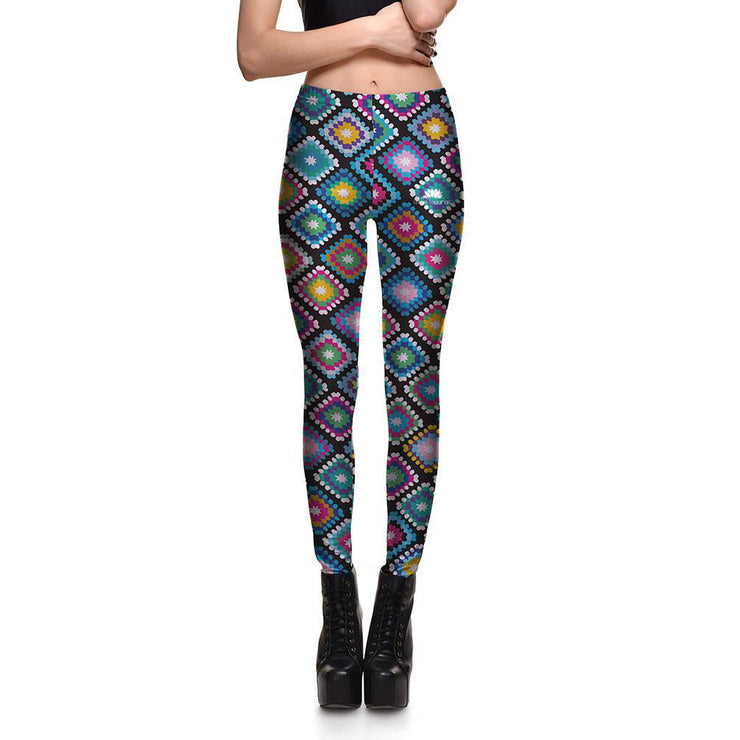 Quilt Leggings