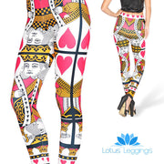 KING OF HEARTS LEGGINGS