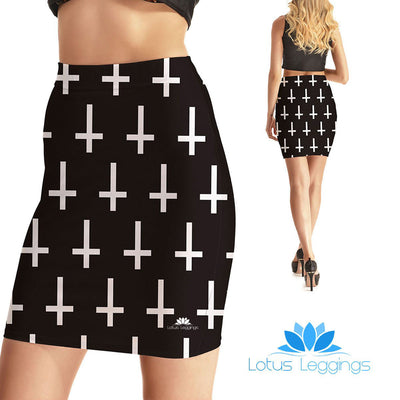 Bad Religion Bodycon Skirt