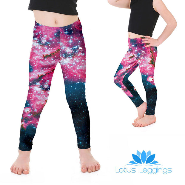 Kid's Galaxy Leggings