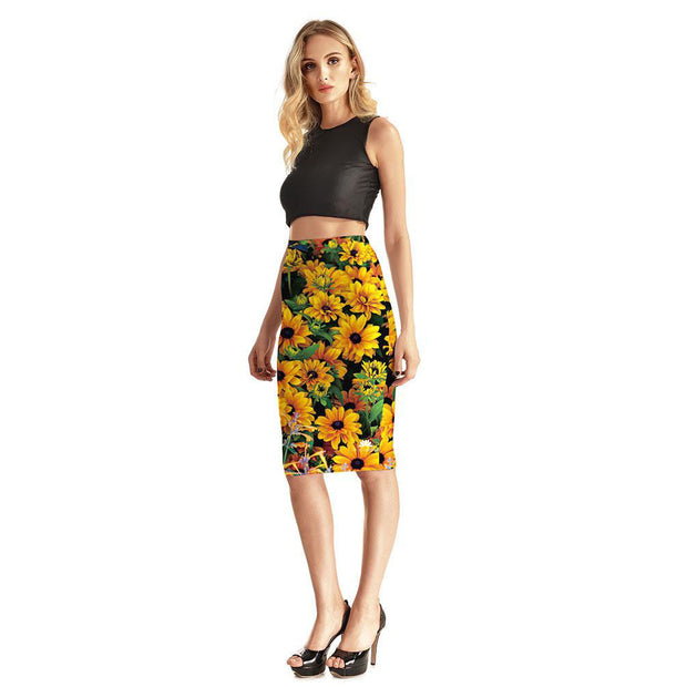 Sunny Daze Pencil Skirt
