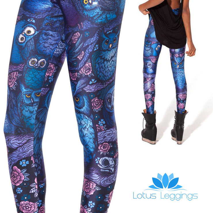 MIDNIGHT OWL LEGGINGS