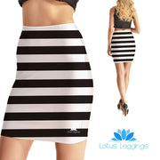 Behind Bars Bodycon Skirt