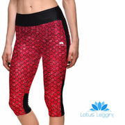 REGAL DRAGON ATHLETIC CAPRI