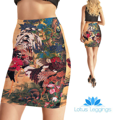 Country Side Bodycon Skirt