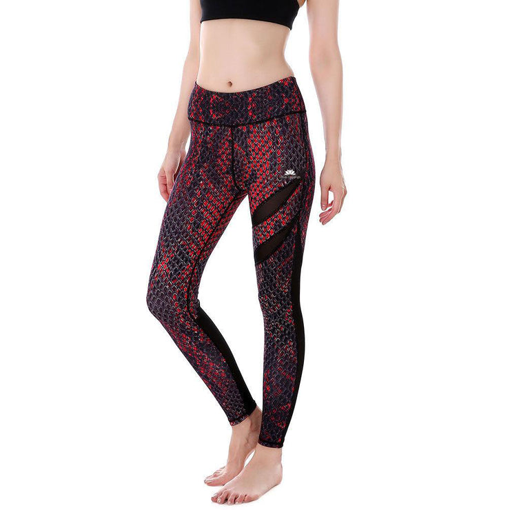 Snakeskin MaxReveal Leggings