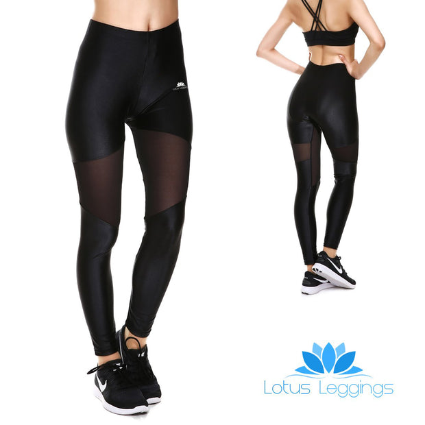 Total Blackout Mesh Leggings