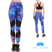 Blue Passion MaxFlo Leggings