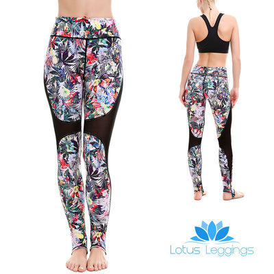 Artful Palms MaxGrip Leggings